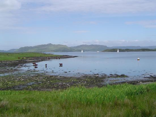 Isle of Luing, UK: The mainland from Luing