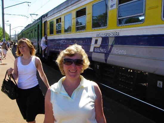 Hotel TIA: TRAIN TO JURMALA