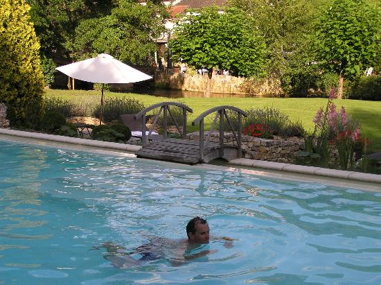 Le Moulin du Roc : Atttractive outdoor swimming pool