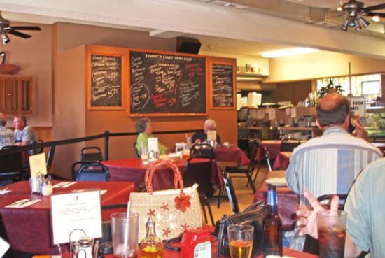 Danny's Deli: Danny's Cafe - left inside view