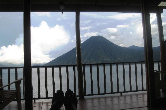 Lomas de Tzununa: view from San Lucas room