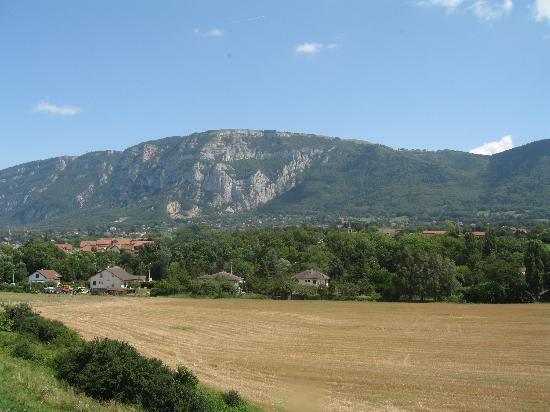 Best Western Porte Sud De Geneve: vue sud
