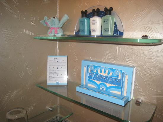 Disney's Hollywood Hotel: simple toiletries