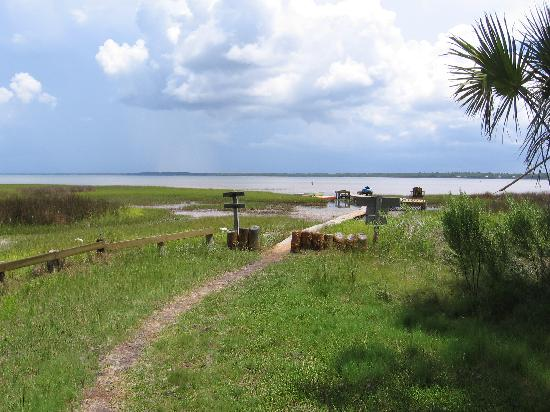 Old Saltworks Cabins : Water access to the bay
