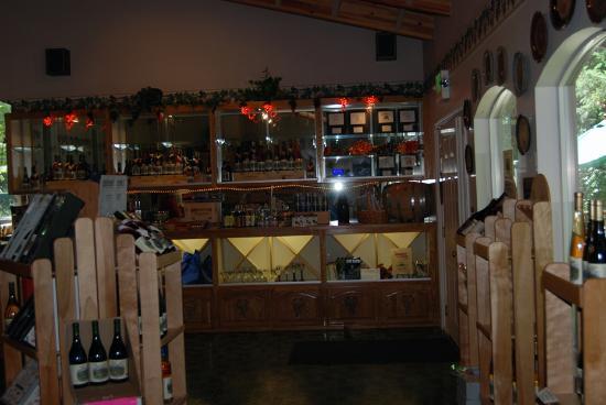 Eugene, Oregón: Tasting Room at Chateau Lorane