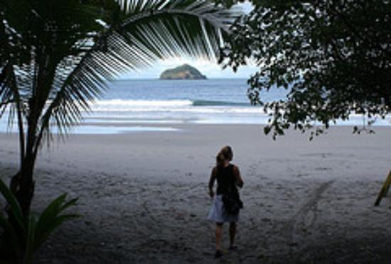 Hotel Casitas Eclipse: Manuel Antonio beach