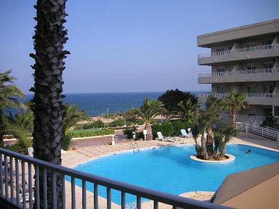 Palmera Beach Apartments: View from balcony