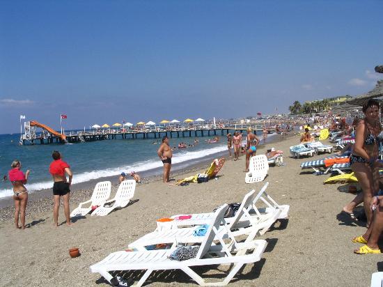 Saphir Hotel: the beach