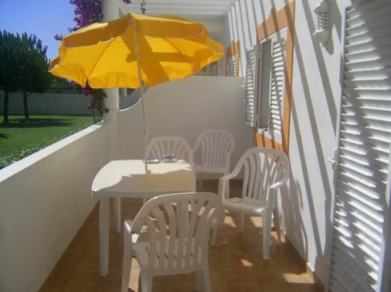 Vilabranca Apartments: large balcony area!