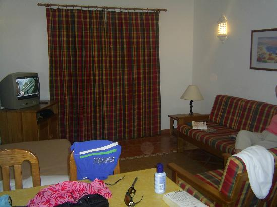 Vilabranca Apartments: Living room - Sorry for the mess!