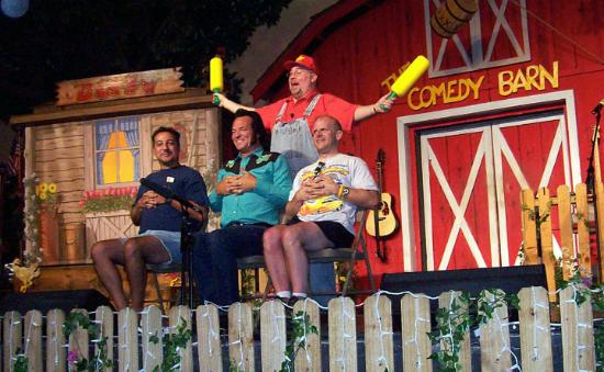 Comedy Barn: Three from the audience
