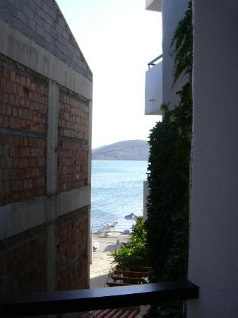 Akti Olous Hotel: Vue sur mer de notre chambre