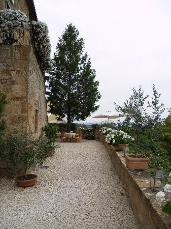 Palazzo Brandano: Outside terrace