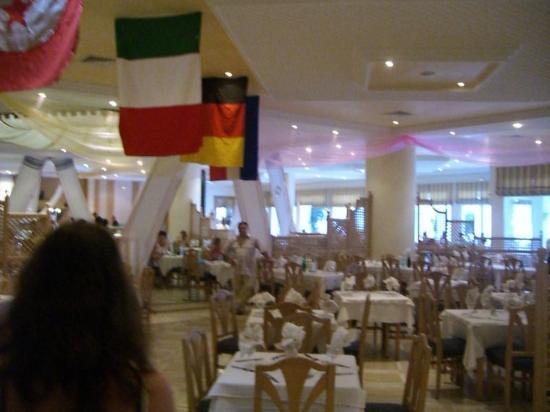 Club Iliade: Le restaurant