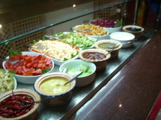Club Iliade: Buffet salade...