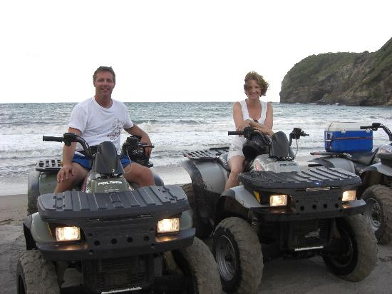ATV Paradise Tours: honey moon beach