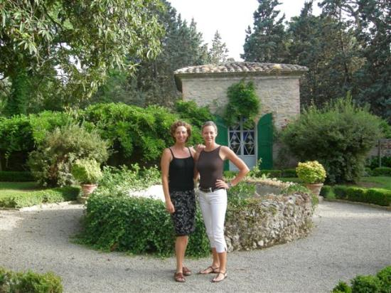 Panicale, Italien: With charming owner Emma-Louise