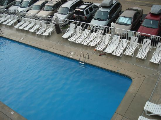 Royal Canadian Motel: piscine