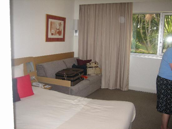 Novotel Biarritz Anglet : Bedroom area