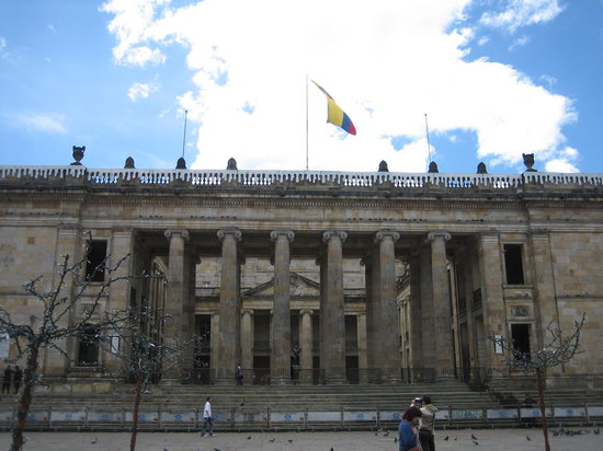 Bogotá, Colombia: Church by Presidential Building