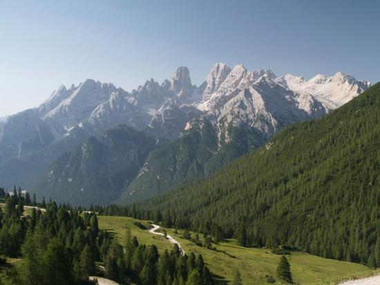 Hotel Hohe Gaisl: Views from the hotel