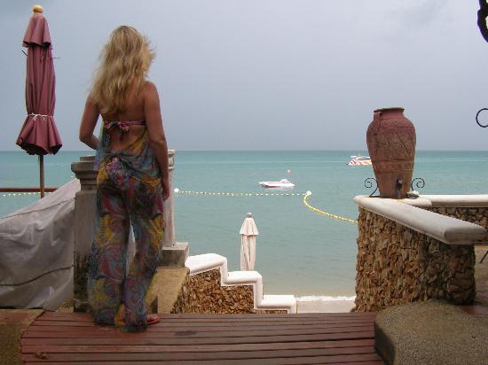 Zazen Boutique Resort & Spa: Direct view on the beach