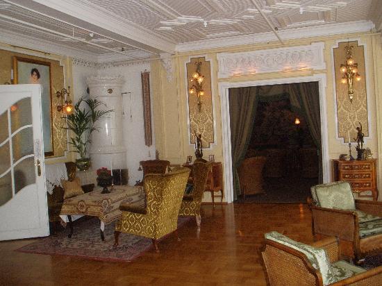 Hotel Union Oye : Living room