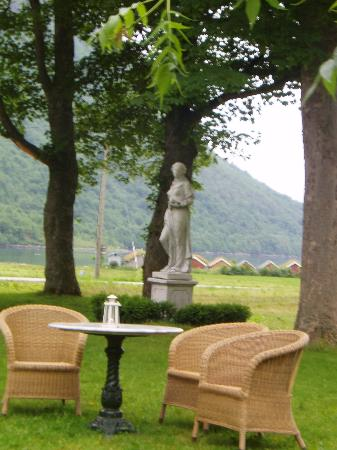 Hotel Union Oye : From the hotel garden