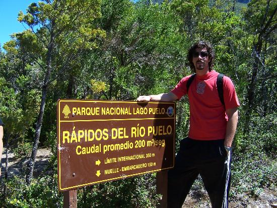 Province of Chubut, Argentina: El límite de la comarca andina con Chile