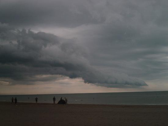 St. Bees, UK: Interesting cloud formation over the sea