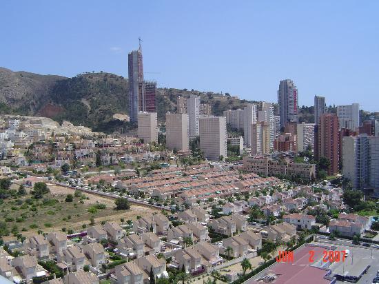 Hotel Levante Club & Spa: veiw from balcony