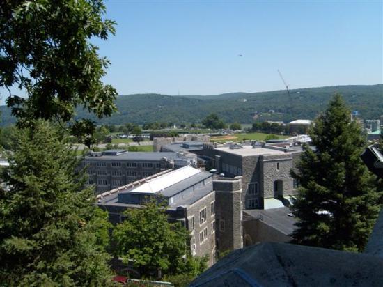 West Point, Estado de Nueva York: View fr chapel