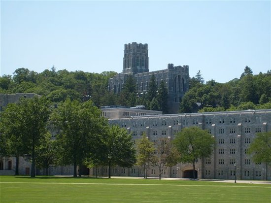 West Point, NY: view of chapel