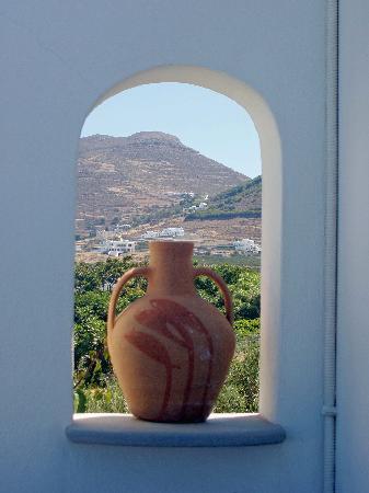 بنسيون صوفيا: view from our balcony