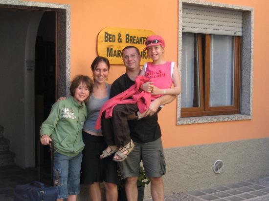 Bed & Breakfast MarcoLaura: avec Marco et Lara