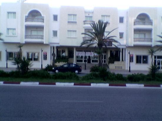 Residence le Corail : façade