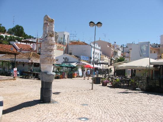 Alvor harbour area