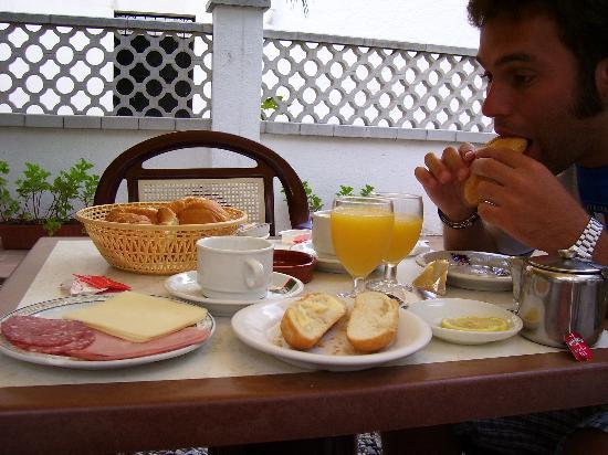 Hotel Simeon: la colazione