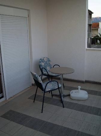 Hotel Adria: Balcony