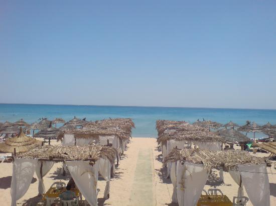 Hammamet Garden Resort & Spa: plage de l'hotel