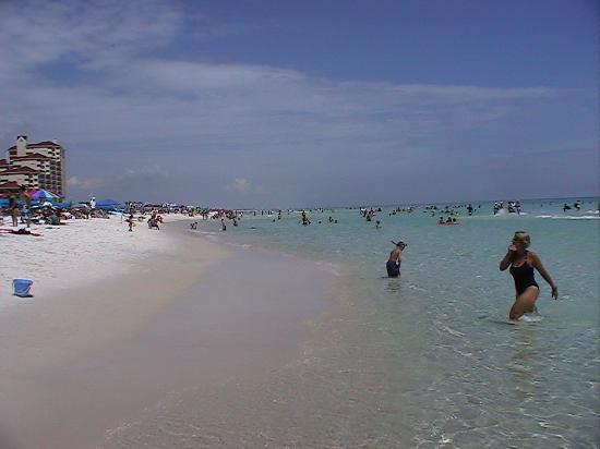 Sandestin, FL: Ocean temp 84deg.