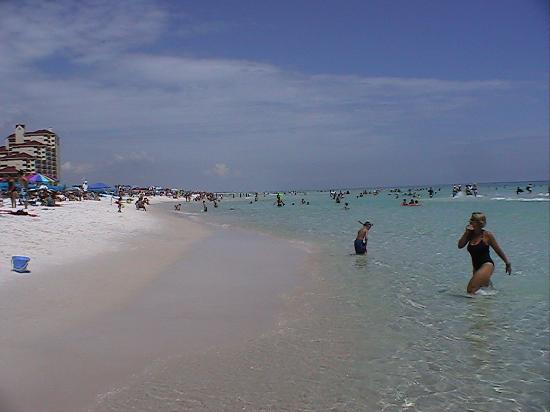 Club Intrawest - Sandestin: Ocean temp 84deg.