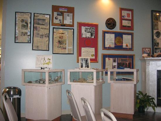 Camden, TN: Pearl museum.