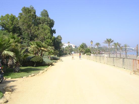 Alanda Hotel Marbella : paseo maritimo en la zona del nh alanda