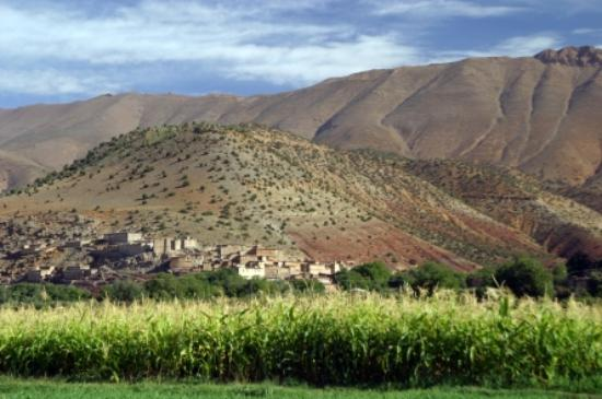 Ecolodge Dar Itrane: Paysage