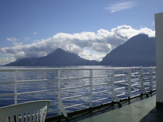 Kabelvag, Norvegia: Ferry from Skutvik to Svolvær