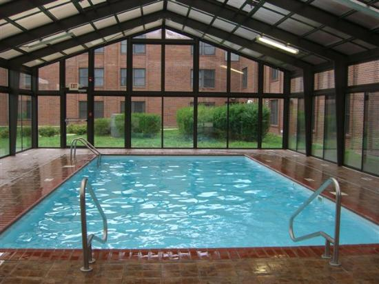 ‪‪Rantoul‬, إلينوي: The indoor pool at the Quarters Inn, Rantoul‬