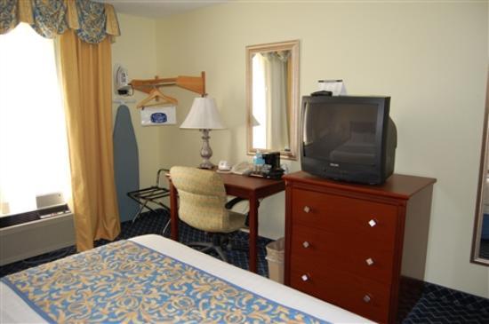Baymont Inn & Suites Savannah Midtown: Fairfield Inn midtown room