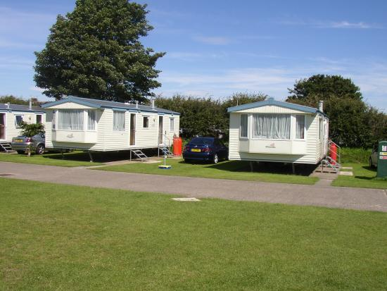 Stanwix Park Holiday Centre: Our two caravans