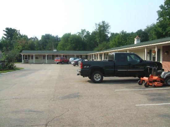 Ethan Allen Motel: Vielle partie du motel